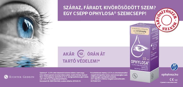 Ophylosa szemcsepp, tippek, Bwnet online időpontfoglaló program