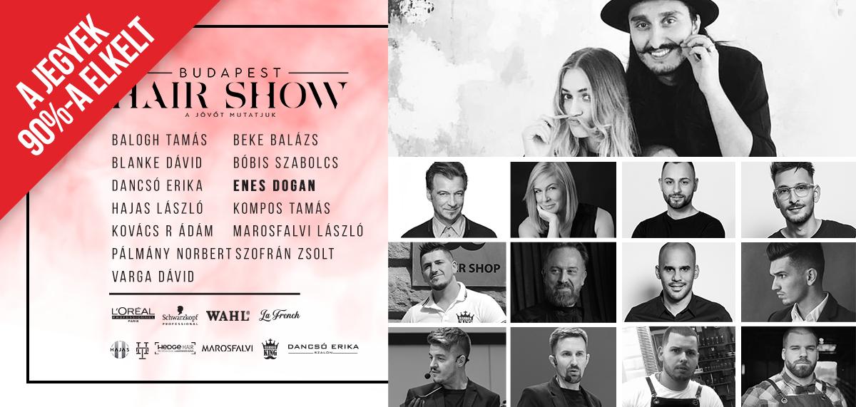 Budapest Hair Show, fordász esemény, Bwnet online időpontfoglaló program