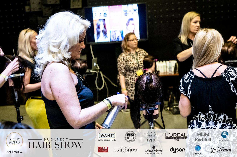 Budapest Hair Show, BHS, fodrász esemény, Dancsó Erika, BWNET