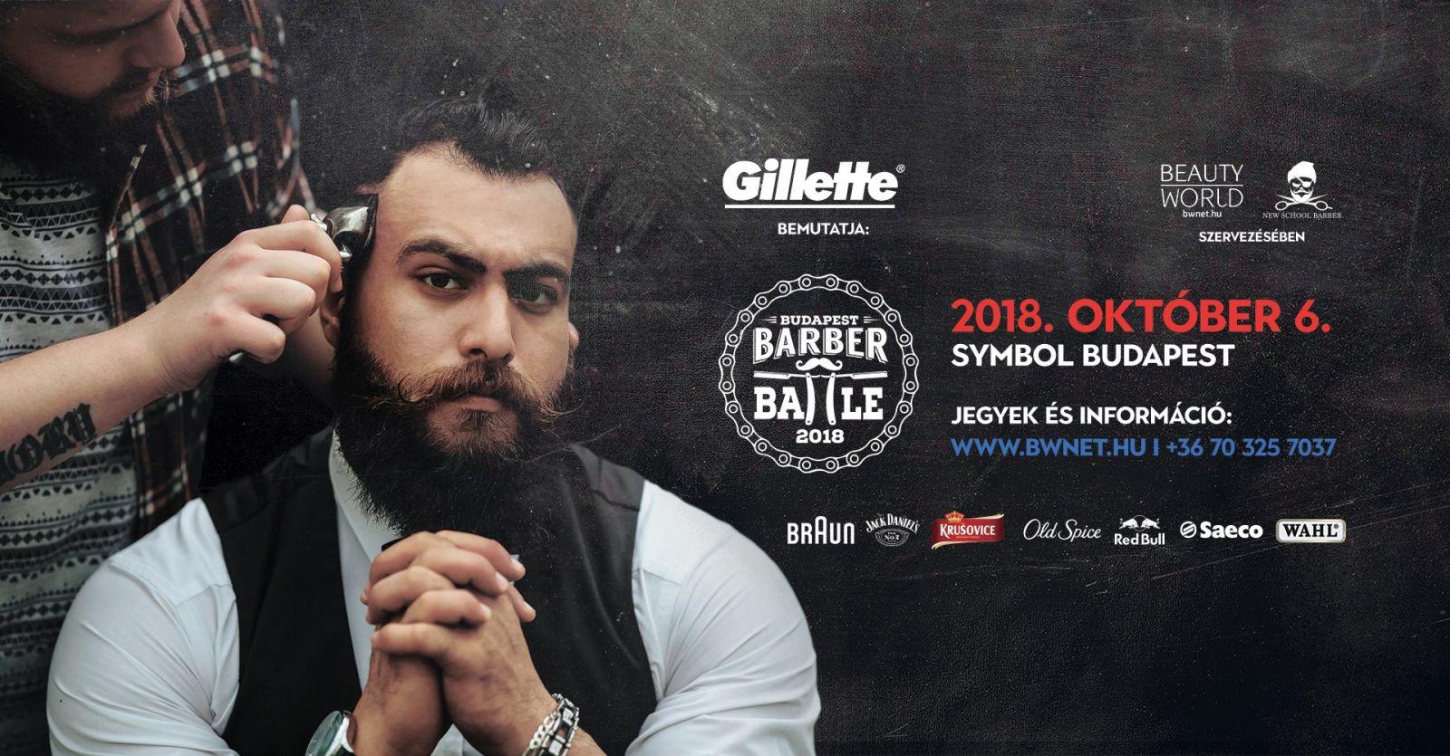 2018. október 6-án a Barber Battle Budapest fodrászdöntő egyedülálló show-t tartogat.
