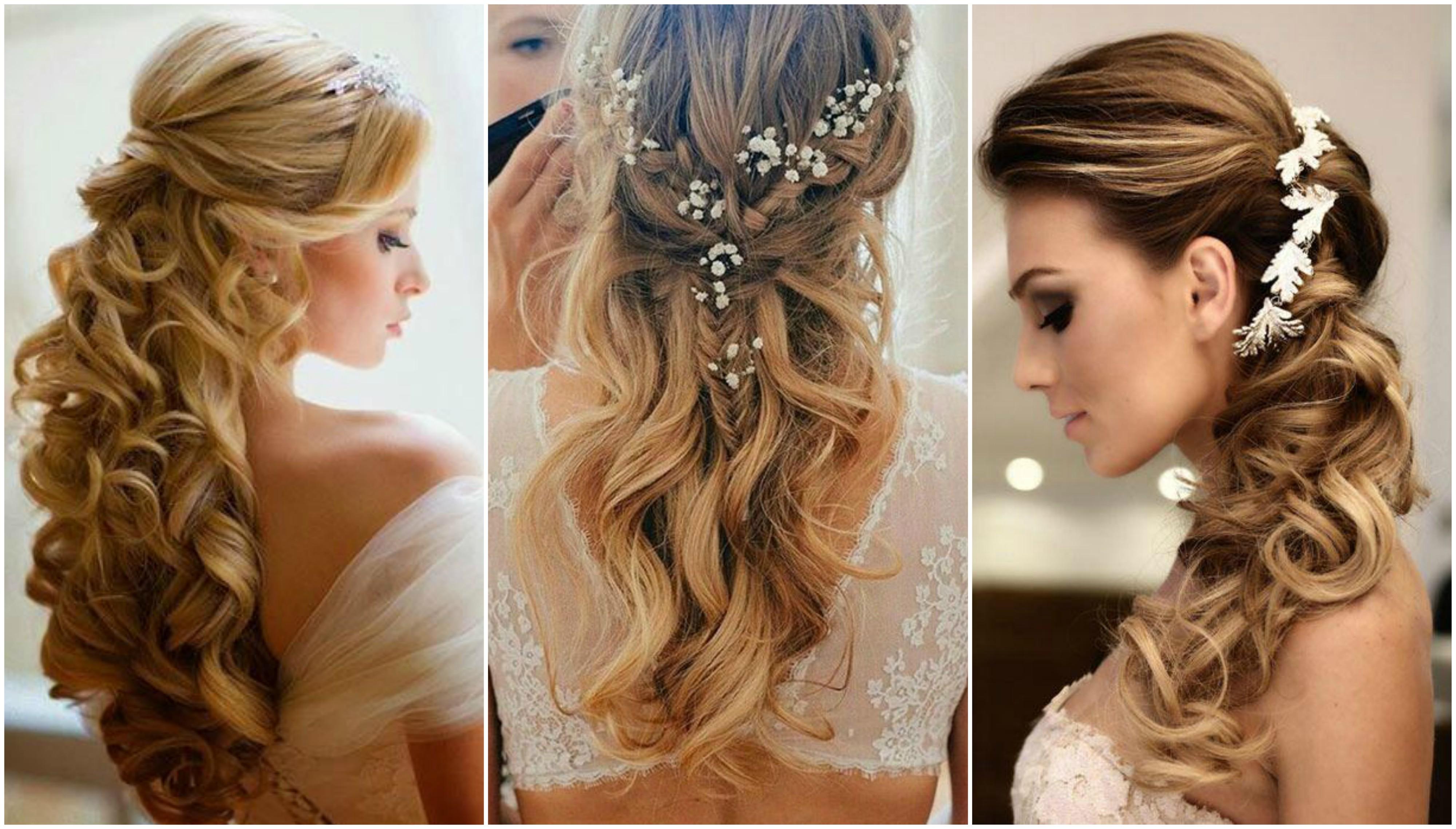 Közeleg a nagy nap és neked még ötleted sincs, hogy milyen frizurával állsz majd az oltár elé? Mutatjuk kedvenceinket esküvői frizura hosszú hajból képpekkel!