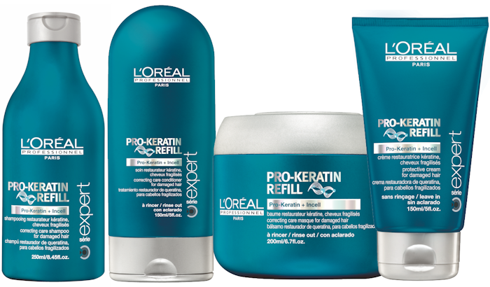 <p>A L'Oréal Professionnel tavasz indító kedvence a Pro Keratin Refil termékcsalád. Sampon, balzsam, pakolás és védőkrém. Itt az ideje a tavaszi megújulásnak!</p><br /> <p></p>