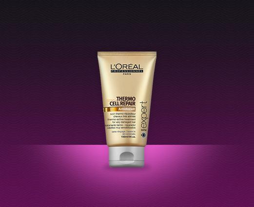 <p>A L'Oréal Professionnel termékcsaládjának tagja a: Thermo Repair Cellular.</p><br /> <p>A termék: hővédő regeneráló tej nagyon igénybe vett hajra.</p>