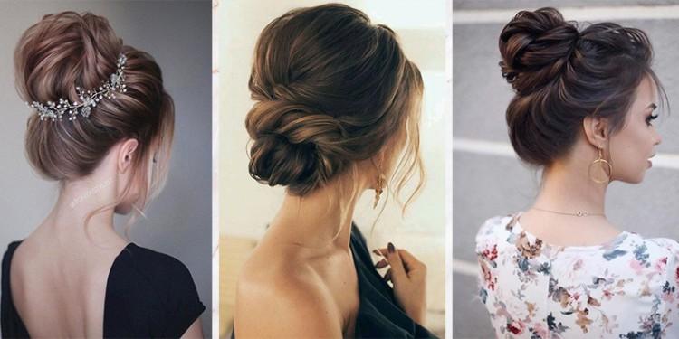 alkalmi frizura hosszú és félhosszú hajból otthon