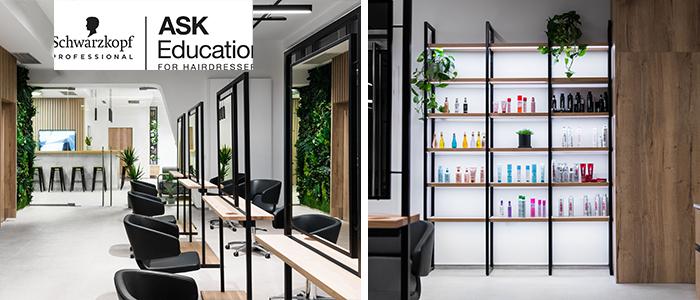 Nagyszerű hír! A Schwarzkopf Professional ASK Academy Budapest 2020. januárban újra megnyitotta kapuit. Megújult környezet, digitalizált eszközök, környezettudatosság, modern berendezés, mi kell még? A Schwarzkopf Professional ASK Academy Budapest oktatócsapat 2020-ban ilyen közegben látja vendégül a szemináriumokra jelentkező fodrászokat. Tudj meg még többet a megújult oktatási központról!