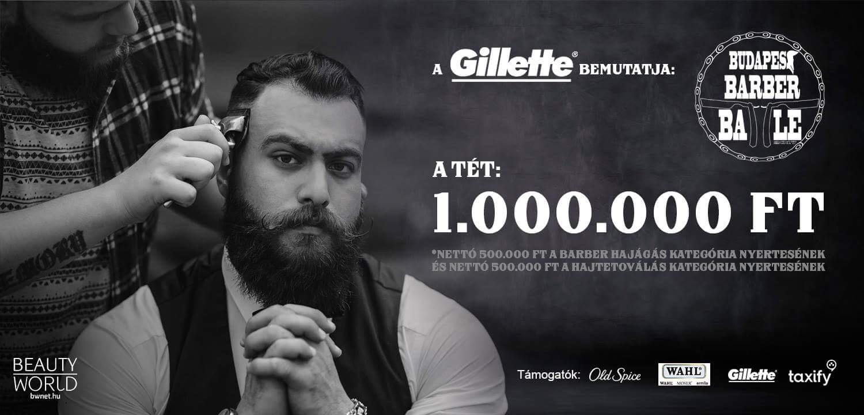 A Barber Battle Budapest arra vállalkozik, hogy csatába hívja Magyarország legjobb barber-fodrász és hajtetováló szakembereit. <br /> <br /> A tét nem kevesebb, mint 1.000.000 Ft és a dicsőség! Nekünk szervezőknek az a célunk, hogy tehetséged pénzre, inspirációra váltsuk. A versenyzés új célokat nyit és felmérheted tudásodat, őszintén, tiszta körülmények között egy szuper zsűri előtt.  <br /> <br /> Az esemény szervezője: a New School Barber Team és a Beauty World Net.<br />
