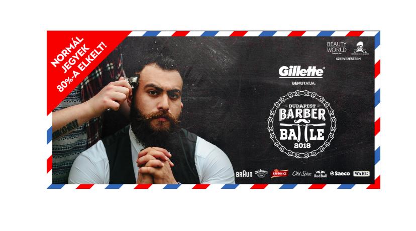 2018. október 6-án a Barber Battle Budapest fodrászdöntő egyedülálló show-t tartogat.<br /> <br /> A tavalyi teltház után a szervezők: a New School Barber Team és a Beauty World Net még több izgalmat ígér az ország barbereinek megválasztásának estéjére!