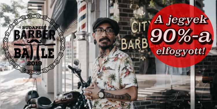Barber képzés 2019-ben a Barber Battle Budapest borbély és fodrászverseny döntőjét megelőzően! Gio The New Kid Hollandiából érkezik Magyarország legnagyobb borbély eseményére!<br />