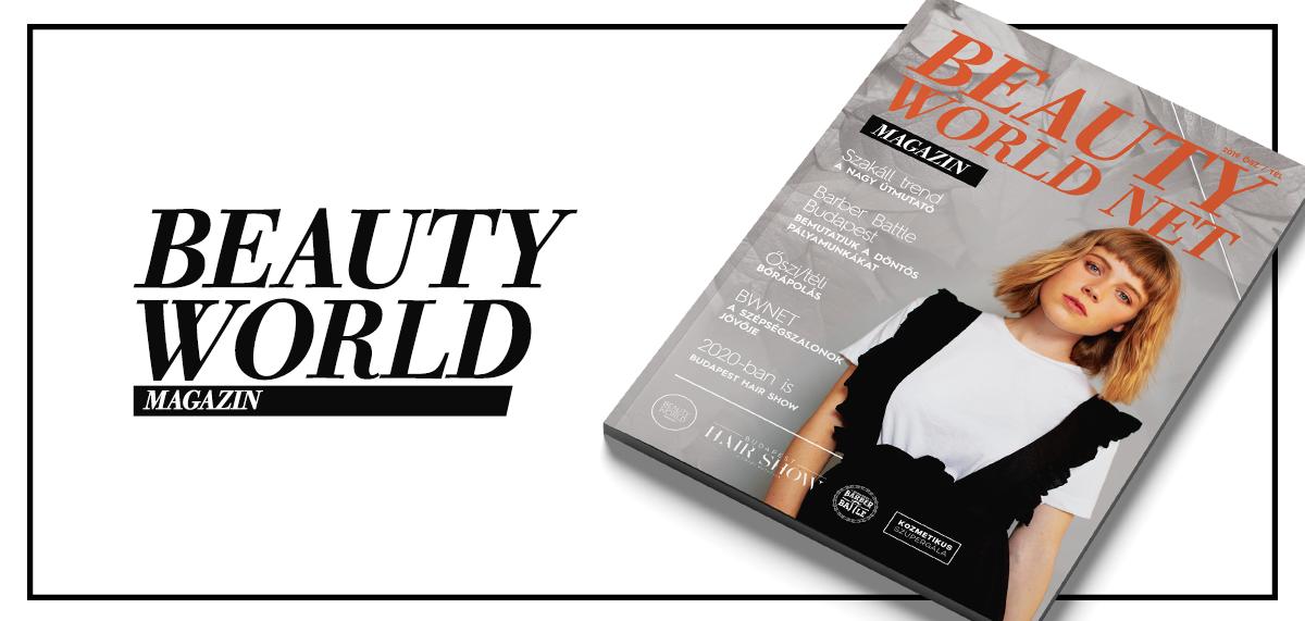 Idén ősszel immáron 5. alkalommal jelent meg a  Beauty World Net Magazin nyomtatott kiadványa, ami már elérhető a szépségszalonokban szakemberek és vendégeik számára is! Egy rendszer, ami megkönnyíti az életed: BWNET.
