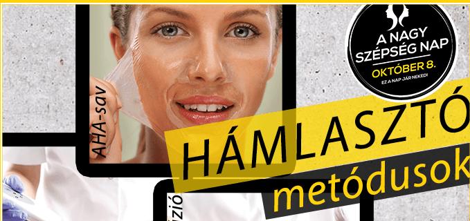 Ki ne vágyna egy gyors és látványos bőrfiatalító arckezelésre? A nyári napozások után ősszel gyakran fakónak és élettelennek tűnik a bőr. A megvastagodott hámréteg miatt a kozmetikumok hatóanyagai is nehezebben szívódnak fel. A bőrmegújító eljárások  bármelyikét kipróbálhatod a Nagy Szépség Napon a részvevő BELICO kozmetikusoknál. Sőt! Most otthonra éjszakai bőrmegújító gyümölcssavas krémet adunk ajándékba!