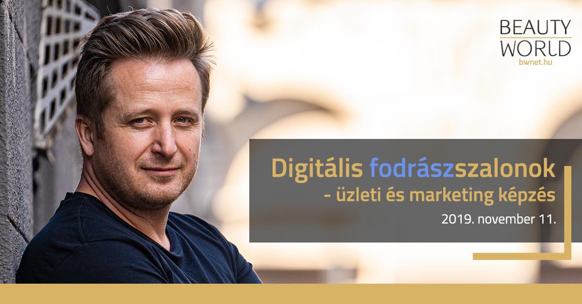 Digitális szalonok – üzleti és marketing képzés: mi a legsikeresebb fodrászszalonok titka?<br /> <br /> RAKTÁR. PÉNZÜGYEK. STATISZTIKÁK. ONLINE VENDÉGKEZELÉS. MARKETING.<br /> <br /> Létrehoztunk egy egyedülálló, friss, modern technikákon és lehetőségeken alapuló képzést, amely során megismerhetsz egy olyan, folyamatosan fejlődő online szalonmenedzsment programot, amely segít, hogy a szalonod még hatékonyabb és sikeresebb legyen! Akár kis, akár nagy szalont vezetsz, képzésünk minden problémádra személyre szabott megoldást kínál!
