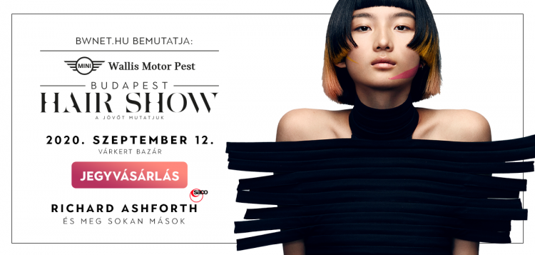 fodrász esemény 2020, budapest hair show 2020, bwnet online naptár, bwnet online időpontfoglaló rendszer