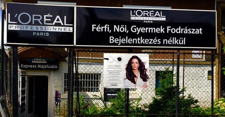 A L'Oréal Express Hajstúdió fodrász kollégát keres alkalmazotti jogviszonyban.<br />