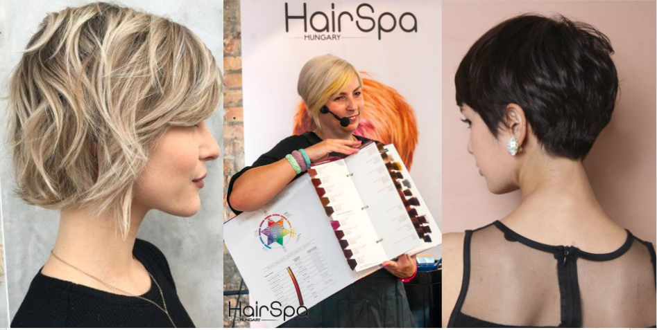 A Hair Spa Hungary bemutatja: Minden, amit a rövid hajról tudni kell 2017-ben Viola Dóra tolmácsolásában!<br />