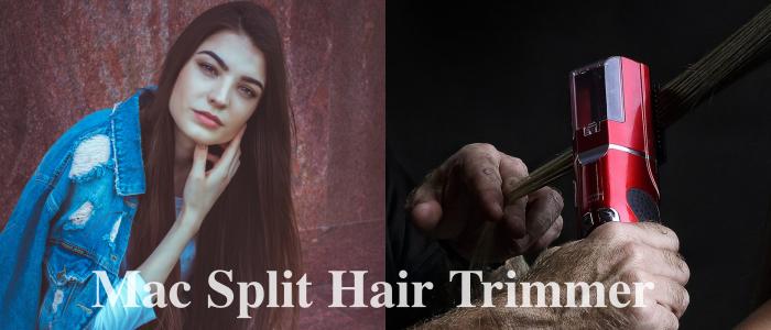 Hajvágás a haj hosszának változtatása nélkül? LEHETSÉGES! Ráadásul vége a töredezett hajvégeknek! Itt a Mac Split Hair Trimmer gép, ami anélkül szabadít meg a töredezett hajvégektől, hogy elvenne több centimétert a hosszából.