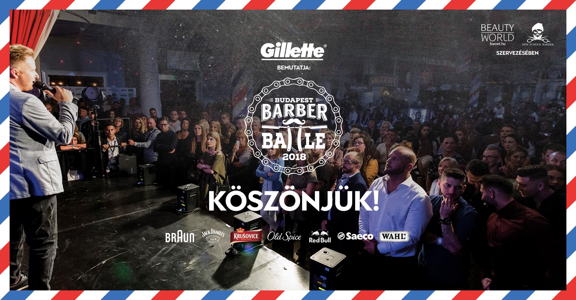 A Barber Battle Budapest fodrászverseny szervezői- a Beauty World Net és New School Barber Team- arra vállalkoztak, hogy csatába hívják Magyarország legjobb barber- fodrász és hajtetováló szakembereit. Az est házigazdái: Kiss Orsi /KISÓ/ és Győri Szabolcs voltak.
