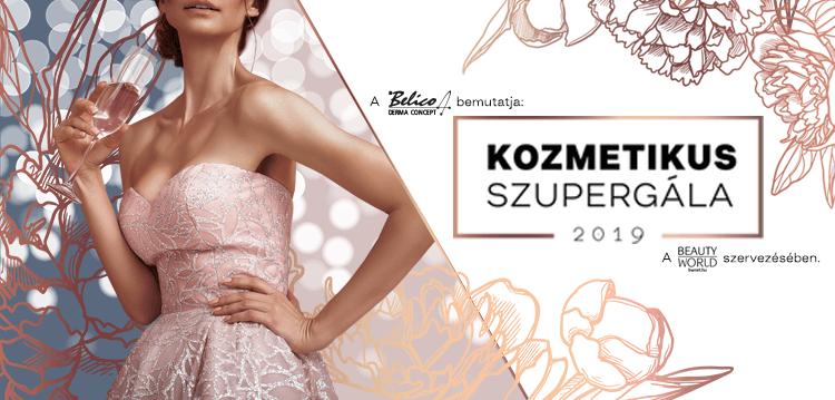A Belico bemutatja: Kozmetikus Szupergála 2019- a Beauty World Net szervezésében. <br /> <br /> Az év egyik legnívósabb szakmai eseménye, mely túlmutat a hagyományos kozmetikai rendezvényeken. Egy minden eddigitől eltérő szakmai összejövetel kizárólag kozmetikusoknak: impozáns Duna-parti helyszín, egyedülálló programok, különleges show-műsor, kötetlen szakmai beszélgetések, inspiráló vendégek és előadások, gálavacsorával egybekötött party (dress code: koktélruha vagy kisestélyi). <br /> <br /> Vegyél részt megannyi sikeres kolléganőd társaságában a tavaszi események királynőjén: a Kozmetikus Szupergálán! Jegyek korlátozott számban érhetőek el!