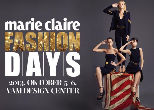 <p>A Marie Claire Fashion Days minden évben kiemelt helyen szerepel a divatrajongók naptárjában. A rendezvényen mindenki értesülhet a legújabb divat és szépségápolási trendekről, inspirálódhat, új ötleteket meríthet, hogyan frissítse fel ruhatárát, milyen sminket vagy frizurát kérjen legközelebb a kozmetikusától, fodrászától.</p>