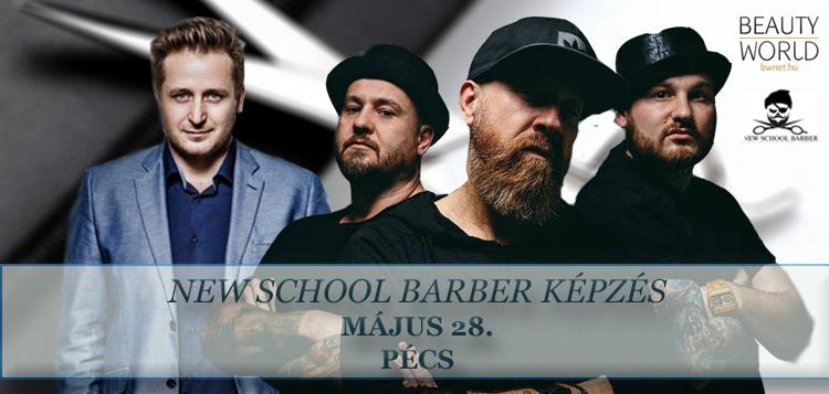 Pécsre érkezik a NEW SCHOOL BARBER Roadshow a BWNET.hu és New School Barber Team szervezésében<br /> <br /> Többet szeretnél adni a férfi vendégeidnek?<br /> Meg ismernéd a modern férfi hajvágás titkait?<br /> Bővítenéd tudásod a modern üzletvezetés területén?<br /> <br /> 2018. május 28-án a New School Barber képzésen a helyed, ahol lerántjuk a leplet a 2018-as Barber Battle Budapest fodrászversenyről is!<br />