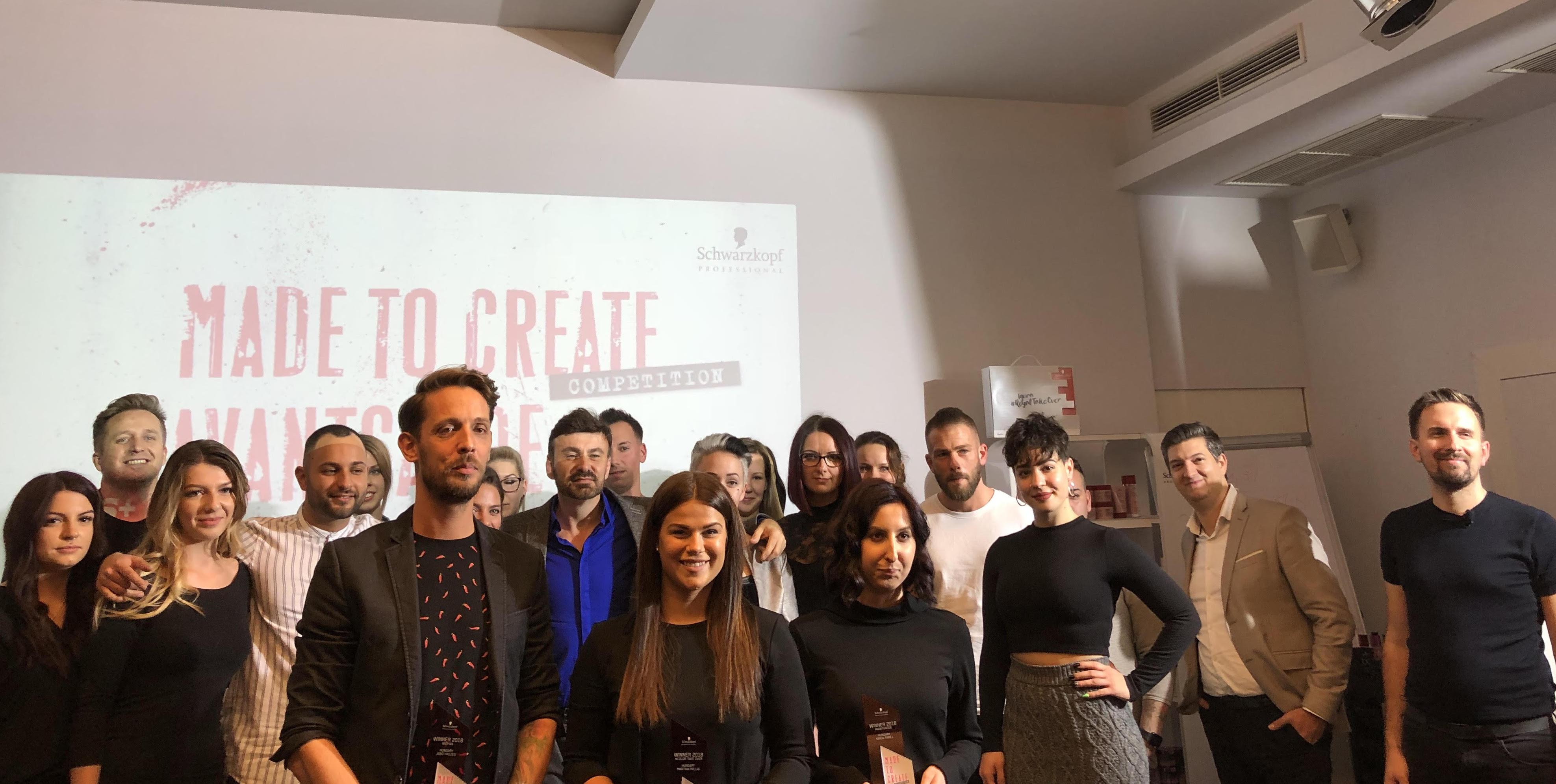 Az OSiS Made to Create fodrászverseny nemzetközi fotópályázatának magyarországi győzteseit ünnepélyes keretek között hirdette ki a Schwarzkopf Professional. A versenyzők 3 kategóriában pályázhattak: Női, Avantgárd és #RoyalTakeOver. A beérkezett fényképes pályamunkákat végül egy 32 tagú nemzetközi zsűri online szavazás keretein belül birálta el.