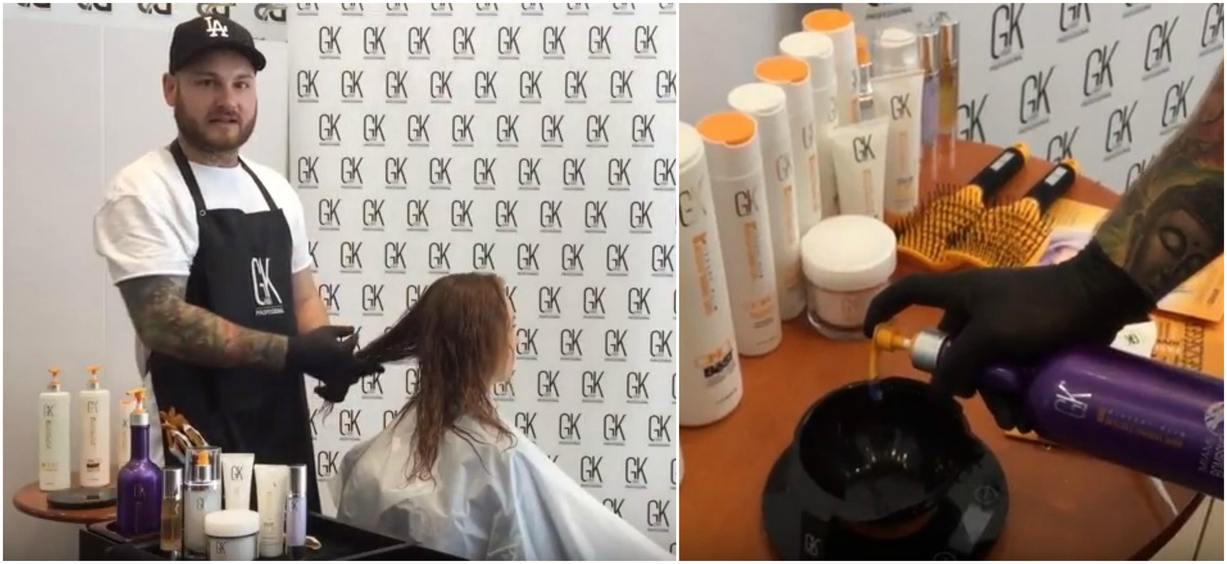 A GKhair THE BEST Juvexines keratin hajfeltöltés minden makacs, nehezen kezelhető hajra megoldás, mely ragyogóvá és bársonyosan puhává varázsolja az igénybevett hajat.<br /> <br /> Videónkban Pulya Misi bemutatásában láthatod a Juvexines keratin hajfeltöltés lépéseit, melyet a fodrász be is mutat és szemtanúja lehetsz a hajfeltöltés ámulatba ejtő eredményének.