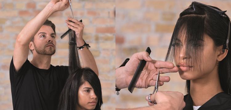 Alapvető elvárás a vendégek részéről, hogy ne csak a szalonból kilépve érezze tökéletesnek a haját, hanem két szalon látogatás között otthon, saját magának is megfelelően tudja elkészíteni a frizuráját. Ebben hatalmas szerepe van a pontos, precíz hajvágásnak, ehhez biztos alapokra van szükség.