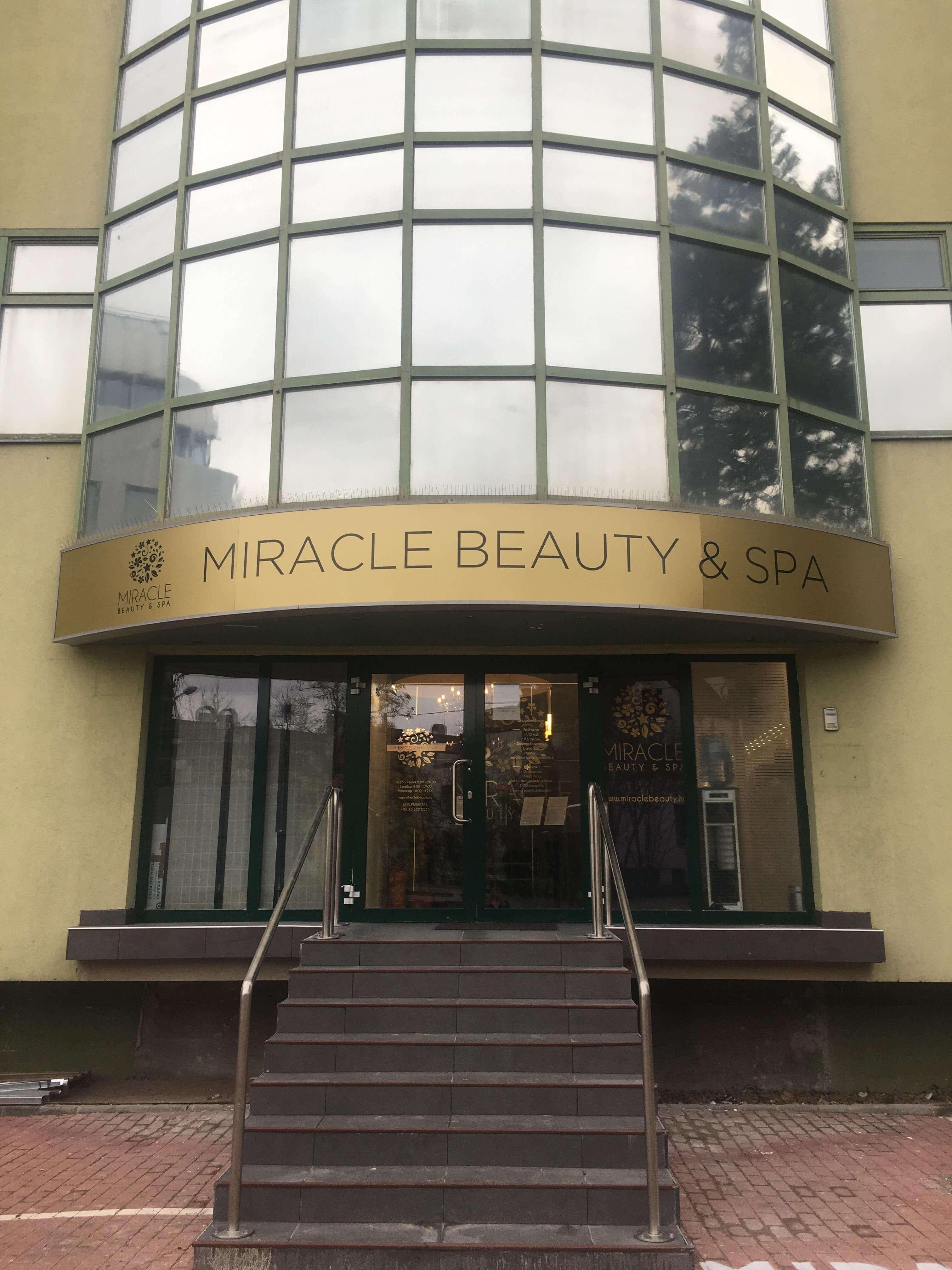 MIRACLE Beauty & Spa - Fodrászat, Lábápolás, Kozmetika, Kézápolás, Egyéb elfoglaltság (V.I.P. vendégek részére), Szempilla-hosszabbítás