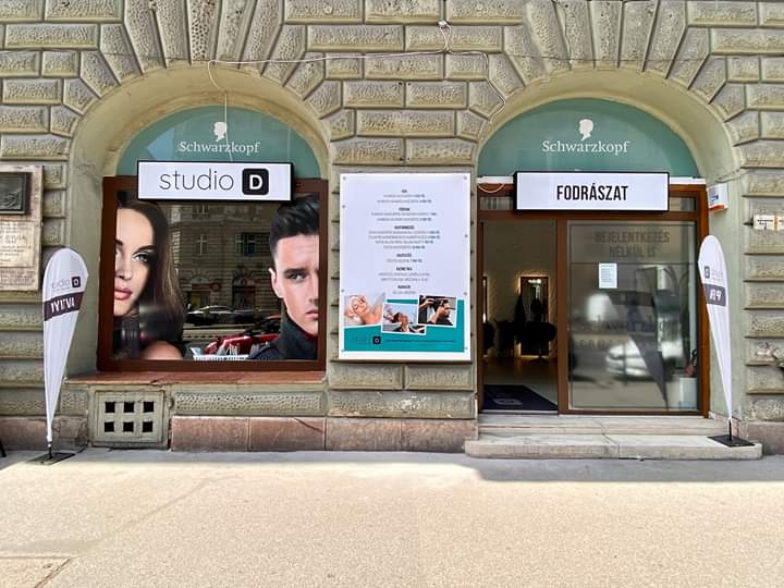 Studio D Ferenc körút - Fodrászat, Kozmetika